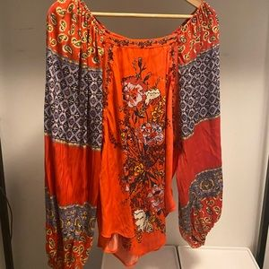 Free People Flowy Top - Size Small
